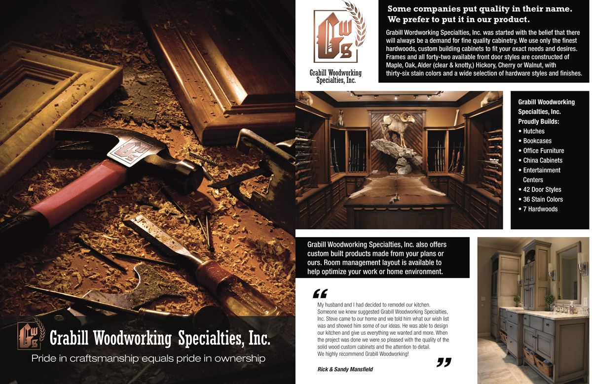 Grabill Woodworking Specialities, Inc. - Brochure - Lassiter Advertising Inc